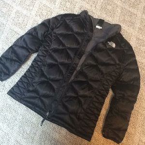 Girls XL hardly worn North Face